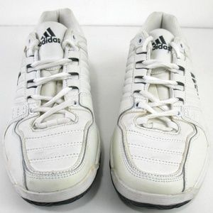 Adidas All White Sneakers KTS Sample Womens Sz 8.5
